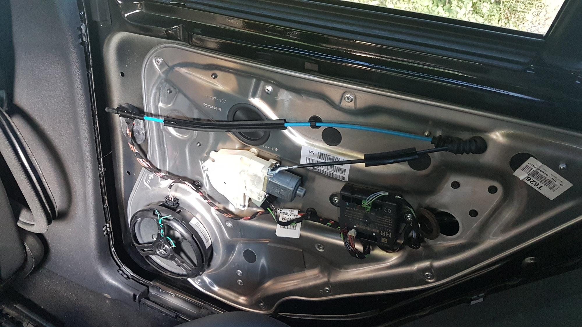 C300 W204 power door lock actuator fix - MBWorld org Forums