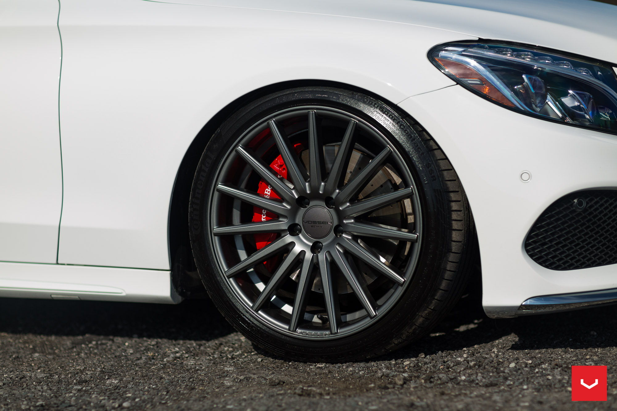 Mb Red Brake Caliper Swap For C300 Page 2 Mbworld