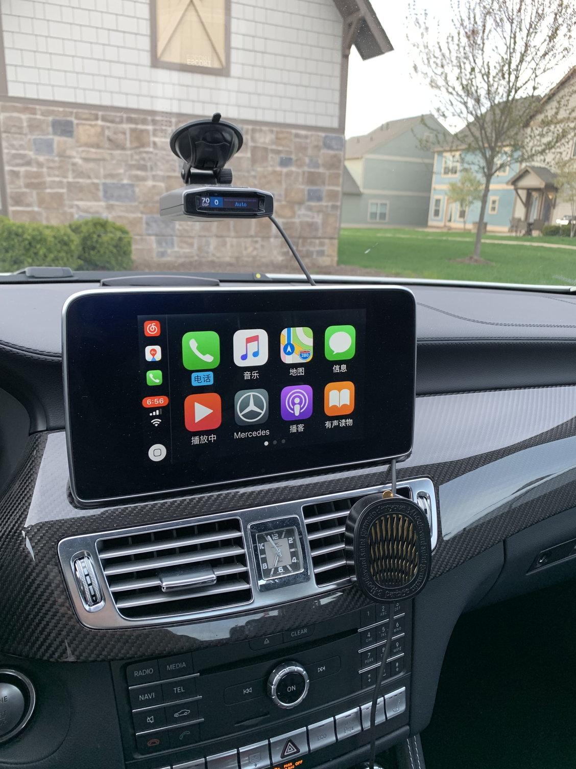 CarPlay retrofit - MBWorld org Forums