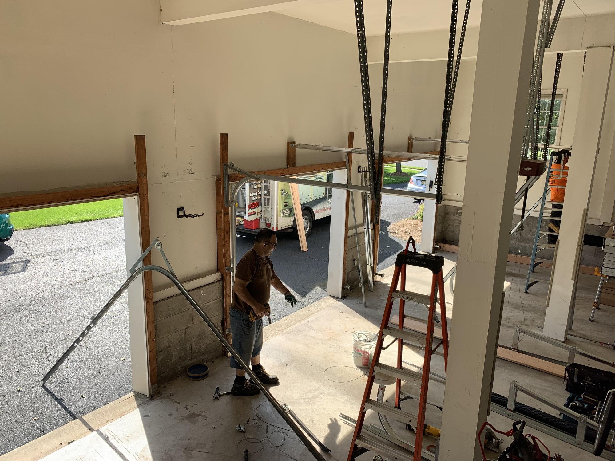 High Lift Garage Door Littlefield