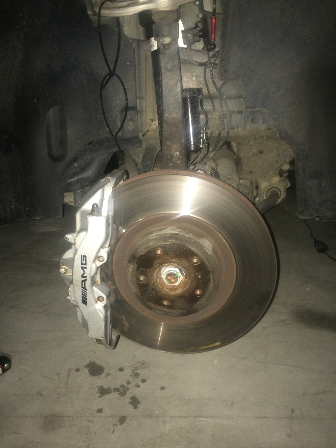 Mercedes ML350 03 04 05 D//S Brake Rotors F+R Set