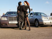 my little, me, my friend and her W210