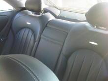 CLK55 Rear Custom Seats