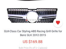 Aliexpress.com .... Price has changed 😫. Still not bad for a custom grille ?