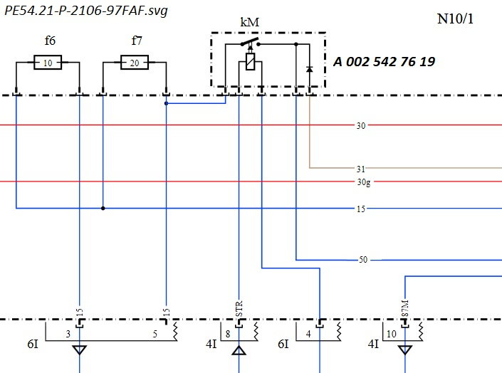 Mercede G550 Wiring Diagram