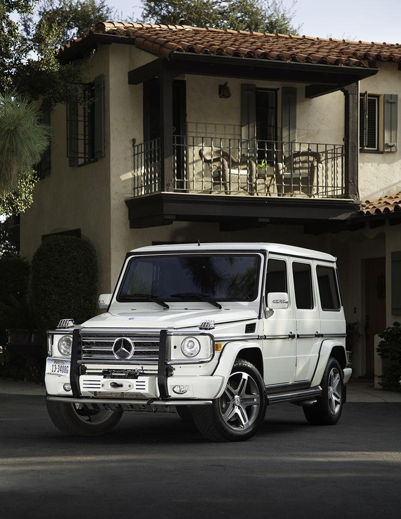 A 2009 mercedes benz g class g55 amg renntech g600 for Mercedes benz g600