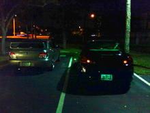 parked next to a nice STI.....