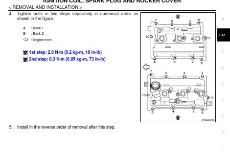 diy g37 valve cover gasket and spark plug tube gasket change - myg37  myg37