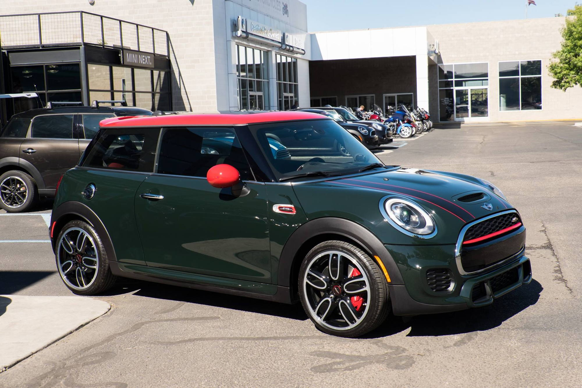 My 2016 Rebel Green Jcw F56 6mt With Pictures North American