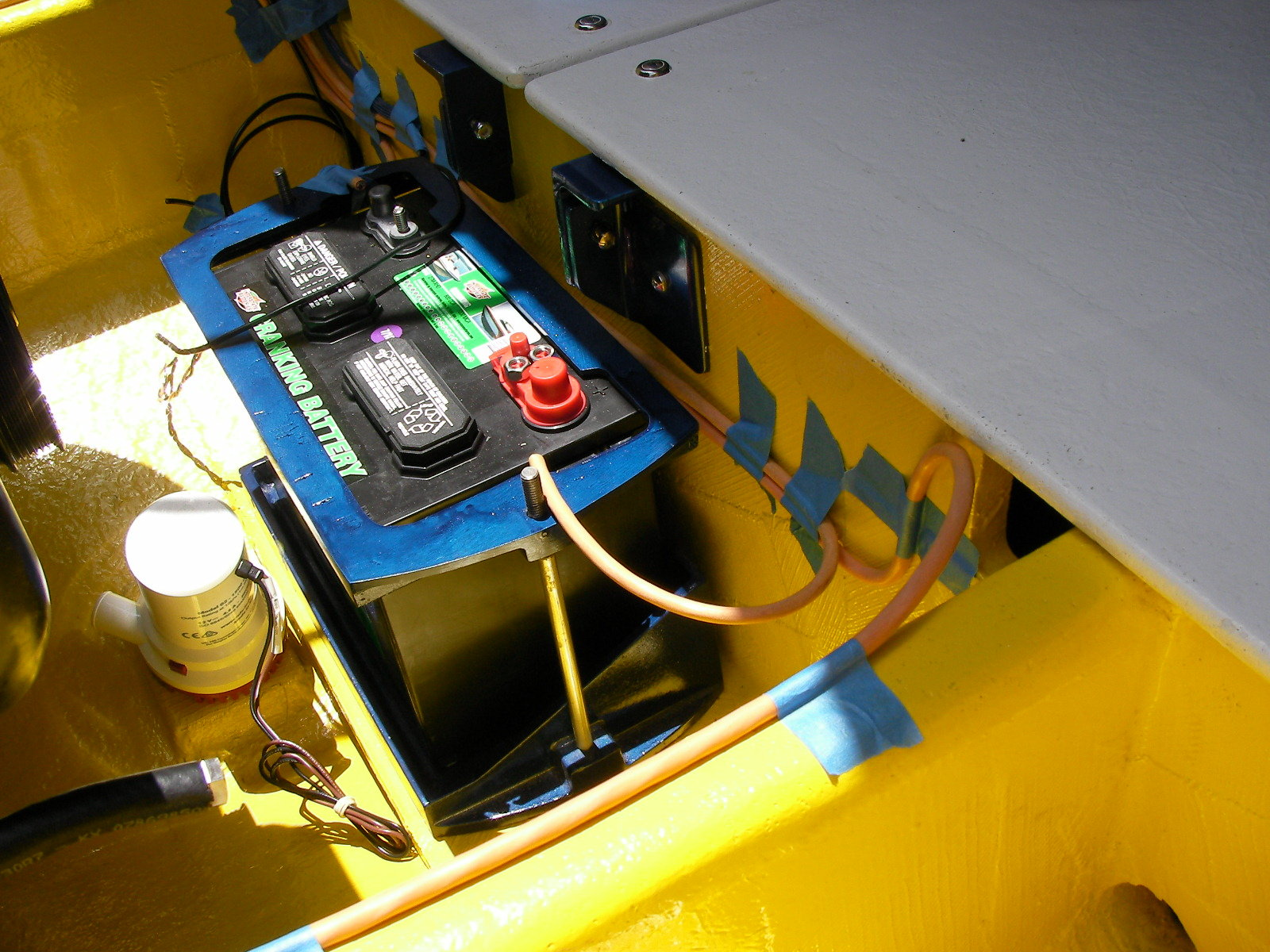 calling the OSO 12 volt braintrust, in 3 parts