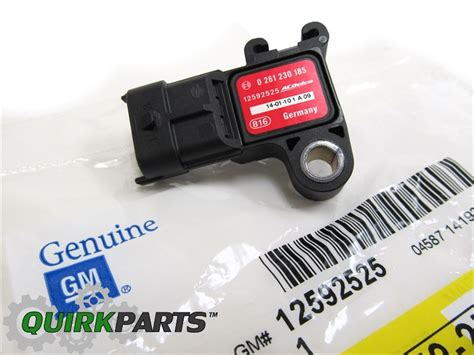 Direct fit 2 or 3 bar map sensor for nnbs