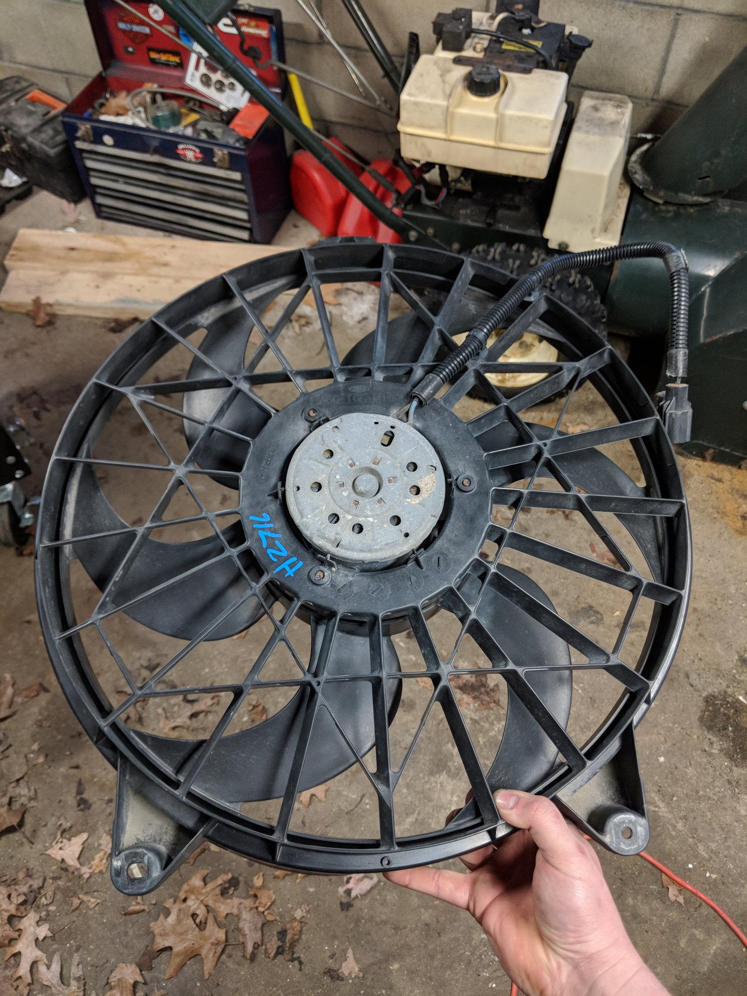Ideas For 3 0l Electric Fan Conversion Ranger Forums