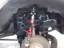 Finished product. New tie rods, upper A Arms and tie rods. The lower BJ was awful. Ill post a video if i can.