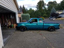 1994 ranger after lowering it.