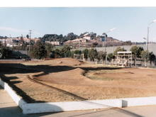 I believe this is the Ranch Pit Shop offroad track around 1984.  Only other track that comes to mind might be the Peralta track down in Del Mar - around 83.