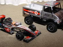 McLaren MP4-24   Unimog