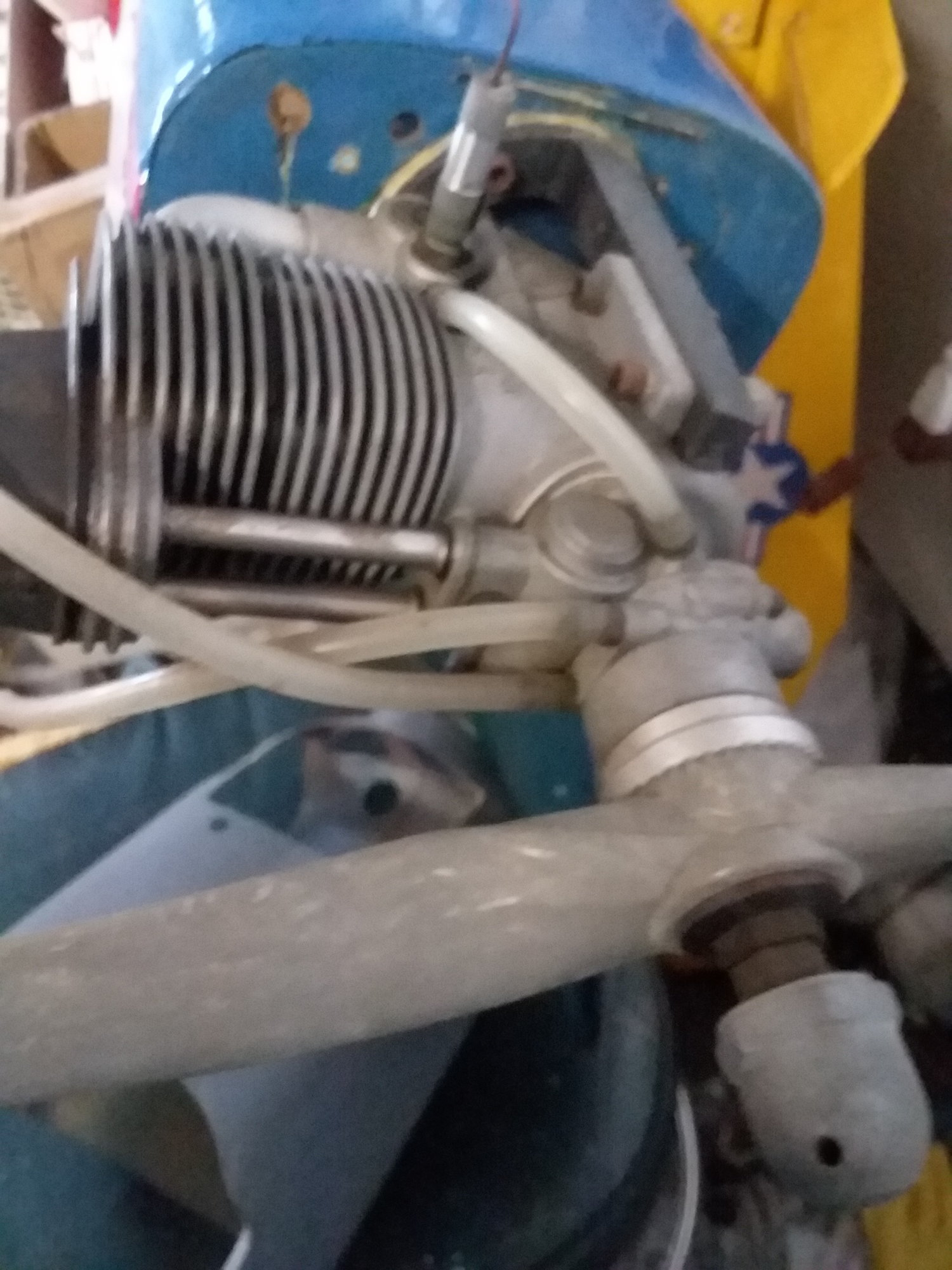 Hurricane special on 4-stroke YS 120 with pump-REDUCED