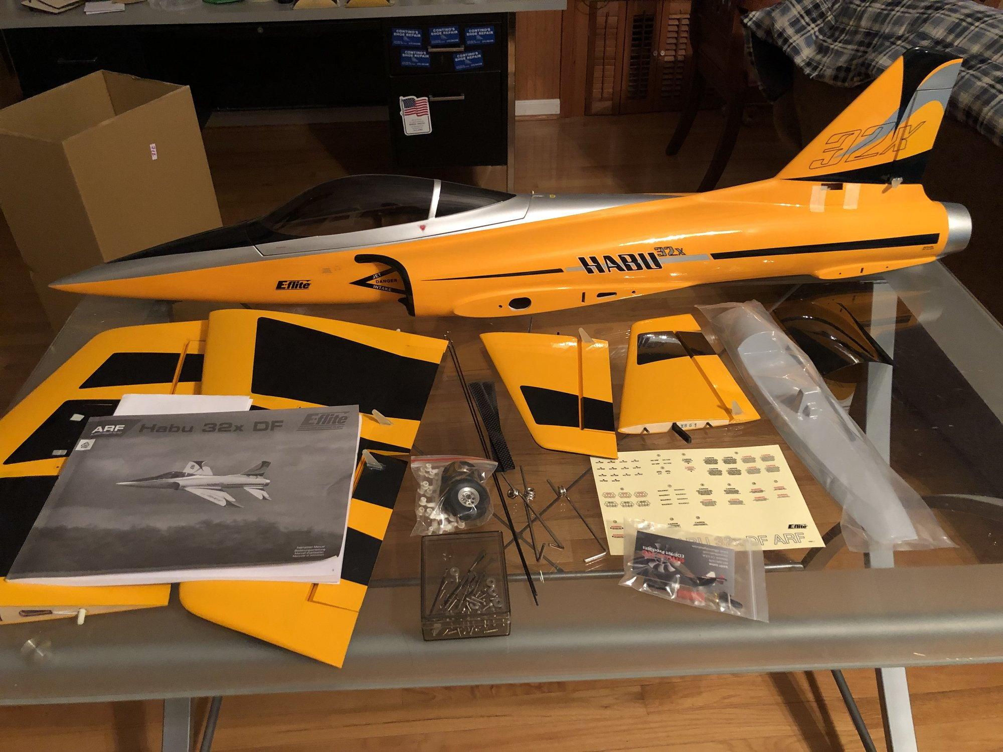 Habu 32 X/ with Retracts/Servos/Jet Fan EDF/ Shipped FREE to