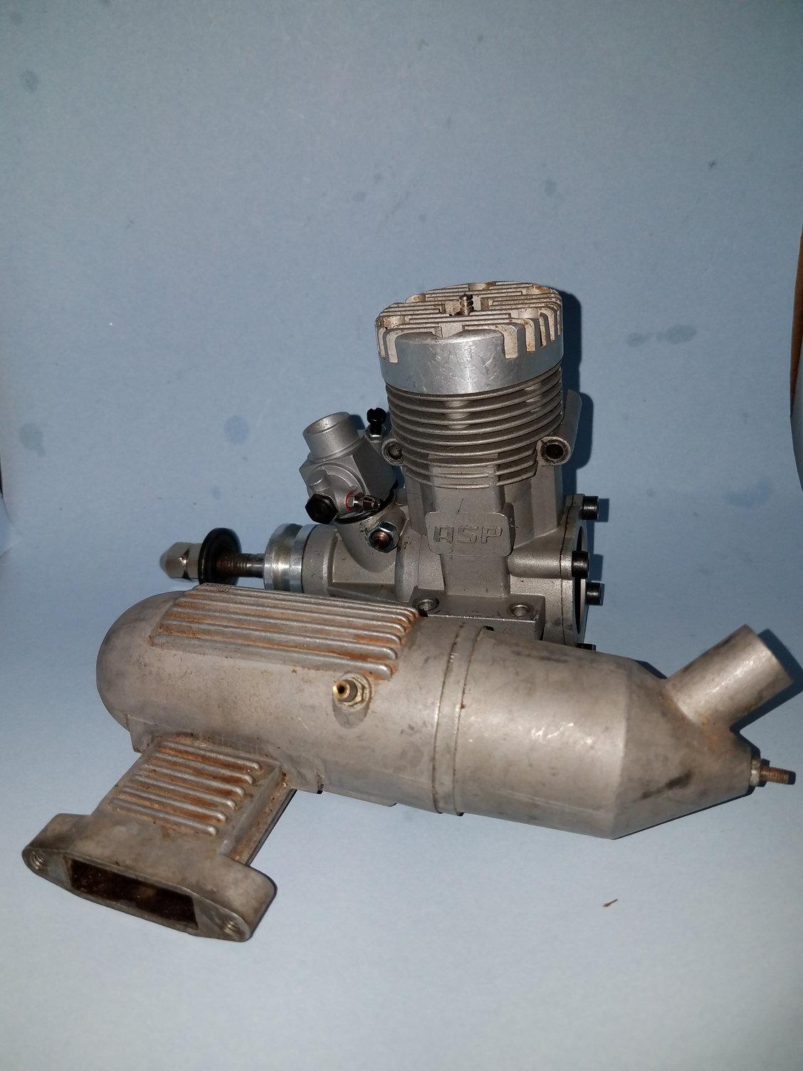 Asp 61 two stroke rc engine - RCU Forums