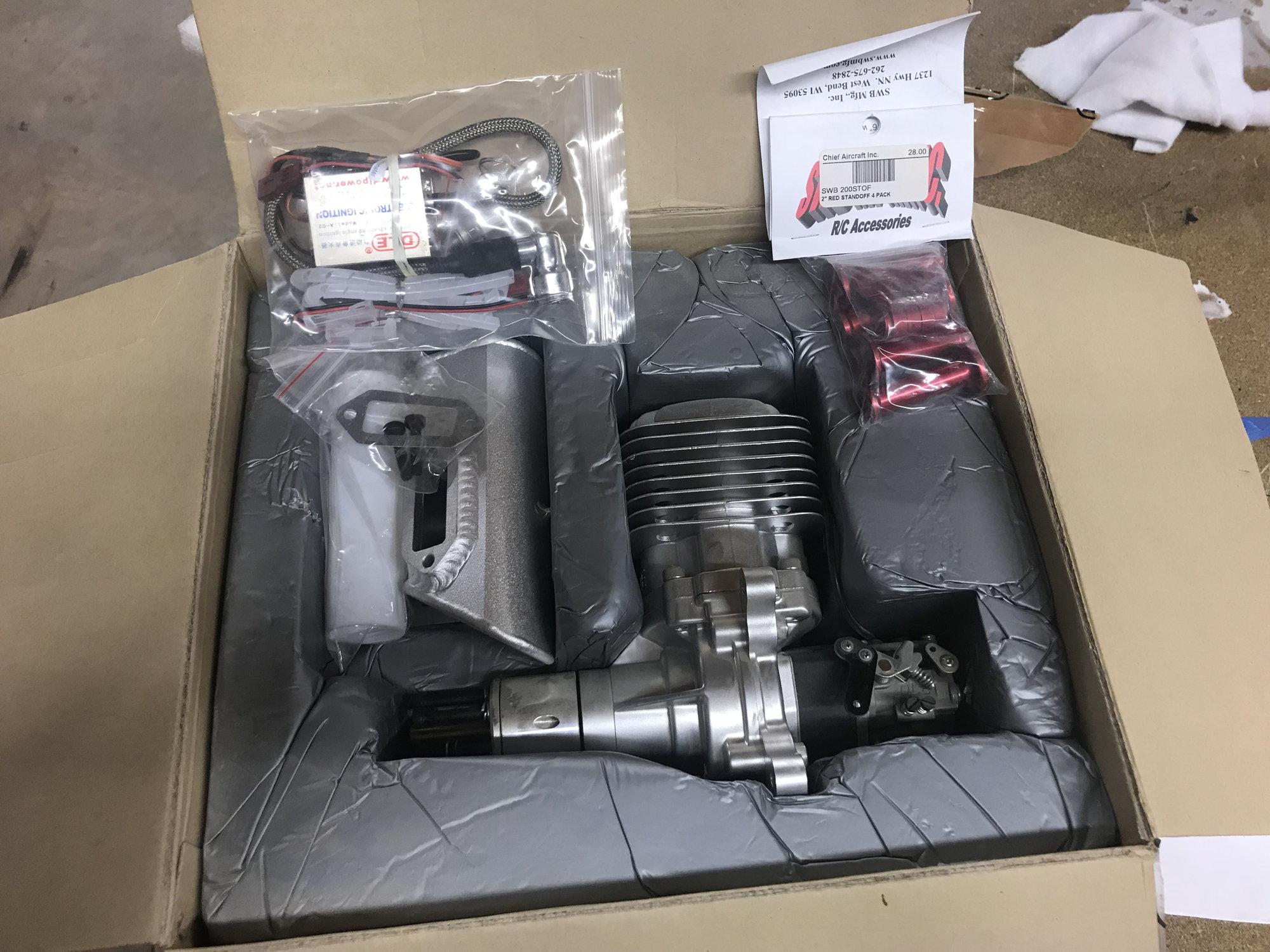 NIB DLE 85 Single Cylinder Engine - RCU Forums