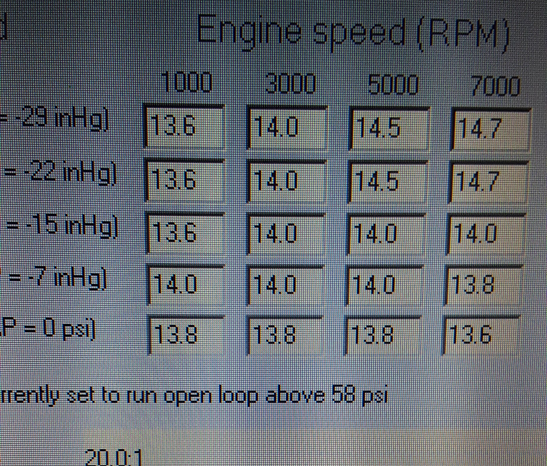 Adaptronic Secondary injector timing in VE - RX7Club com