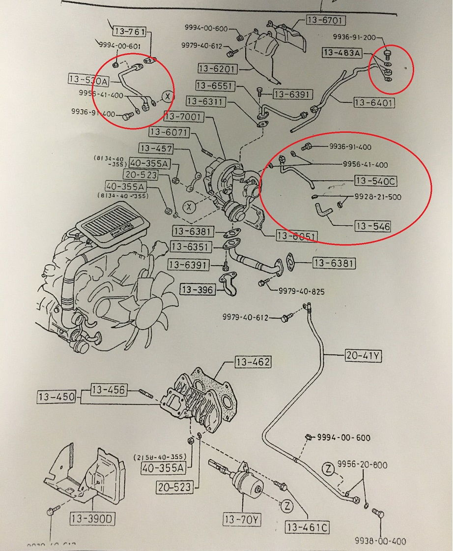 Turbo Diagram Ff Acbf Ceee E Df A B B on 1992 Mazda Rx7 Turbo Oil Return Line