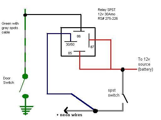 Neon Light Footwell Diy Install