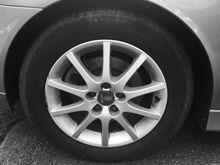 Great looking tires 2005 Saab