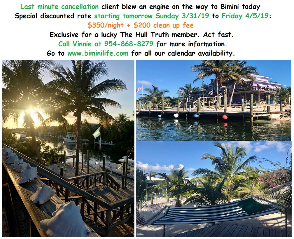 Bimini house w/dock for rent 100 ft - Page 12 - The Hull