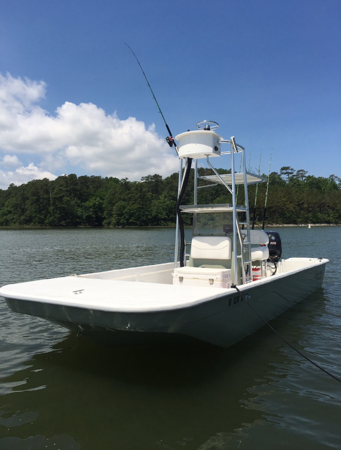 2015 21 Foot Coastal Skiff With Tower (Sold-No Longer For