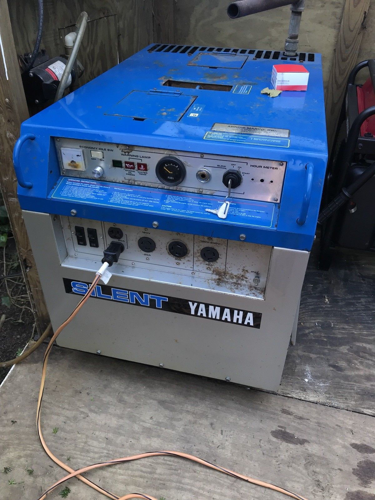 Yamaha quiet diesel generator 5 5kw asking the - How long does a generator last ...