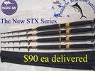 STX Stand-up tuna rods