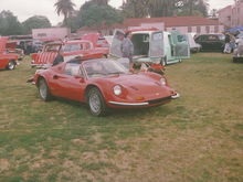 """1974 Ferrari Dino 246 GTS """"Chairs and Flares"""""""