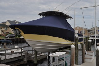 Pictures of boat covers on a lift - The Hull Truth - Boating and