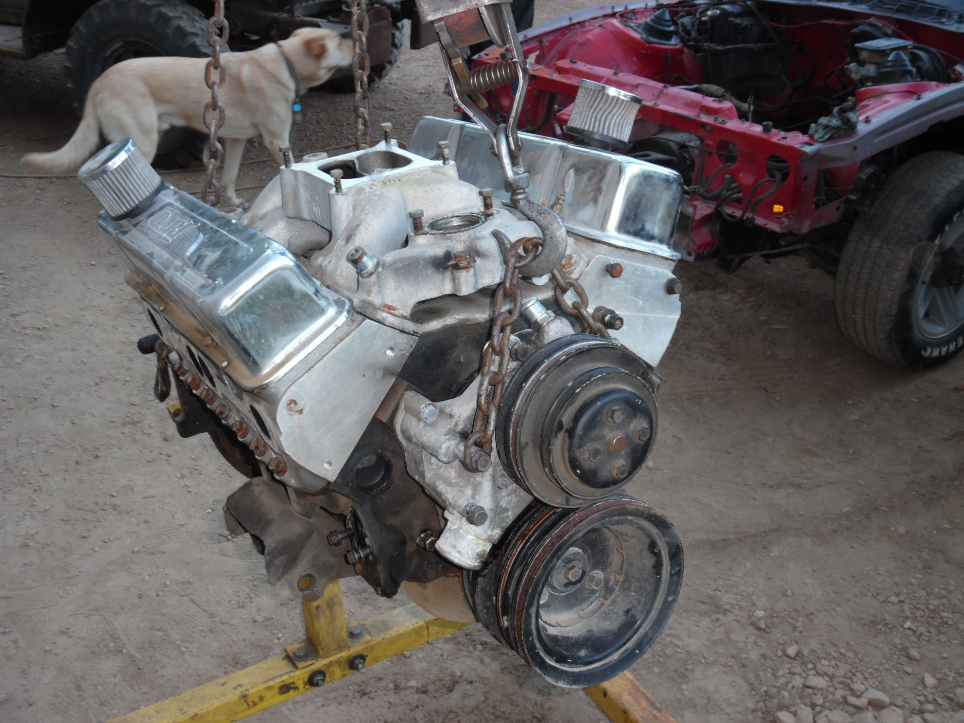 84 z28 build and lookin for info on 383 stroker third generation junk yard dog aj in the back making sure im not loafing engine on stand and is now in my shop tomorrow i am tearing it apart to get ready for the malvernweather Gallery