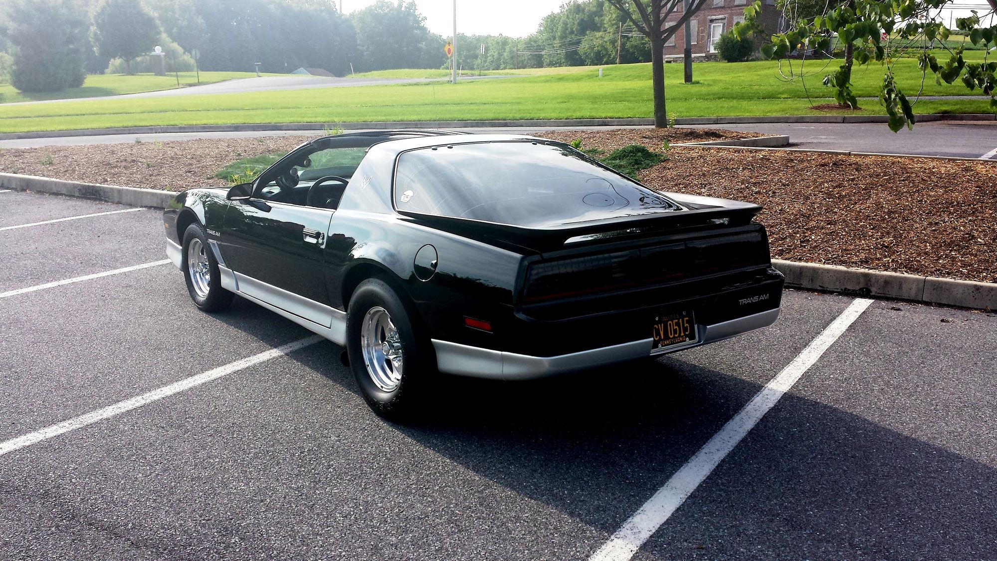 Pennsylvania 1985 Award Winning Modified Pontiac T A