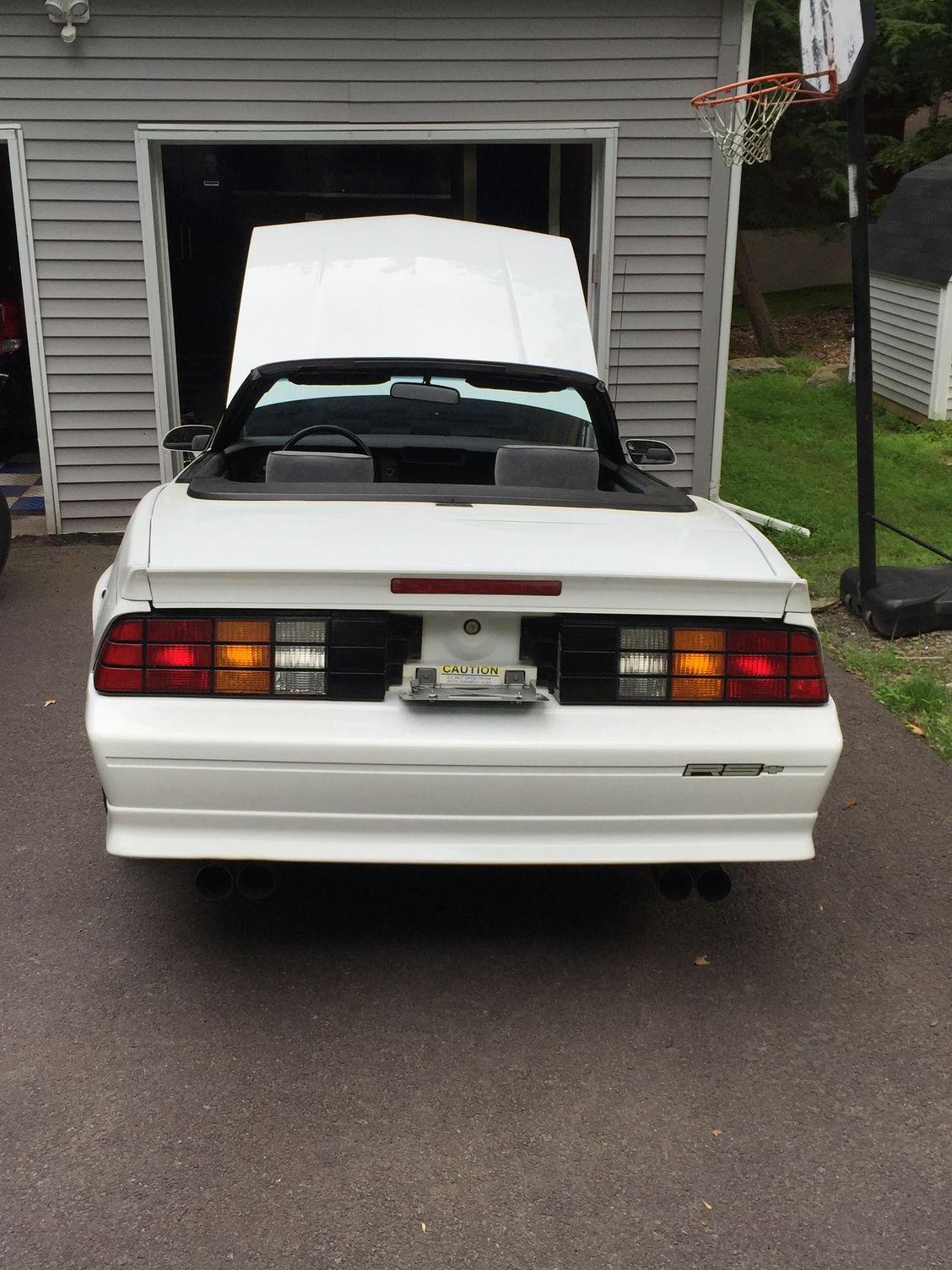 Pennsylvania 1991 Camaro Convertiable 33 000 Original