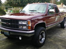 clean truck