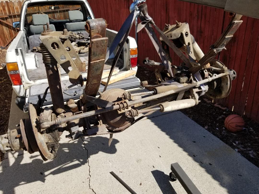 FS [SouthCent]: 83 84 Toyota Pickup 4Runner Solid Front Axle SAS