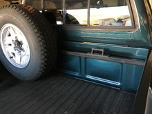 Bed Mounted Spare