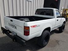 70k OG miles. Homemade rear bumper