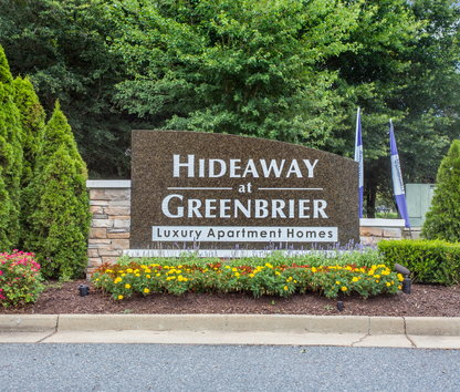 Hideaway At Greenbrier Luxury Apartment Homes