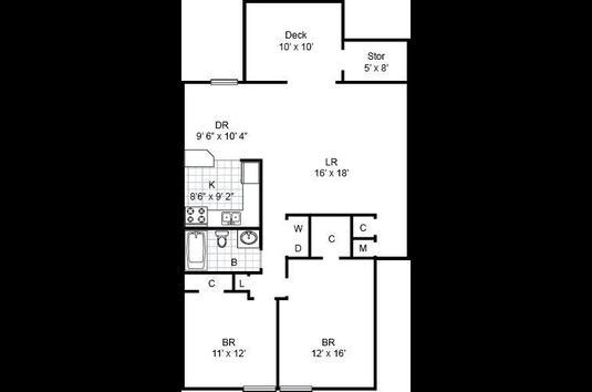 South Lake Apartments - 34 Reviews | Virginia Beach, VA ... on