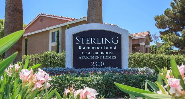 Stupendous Sterling Summerland Apartments 51 Reviews Las Vegas Nv Home Interior And Landscaping Ymoonbapapsignezvosmurscom