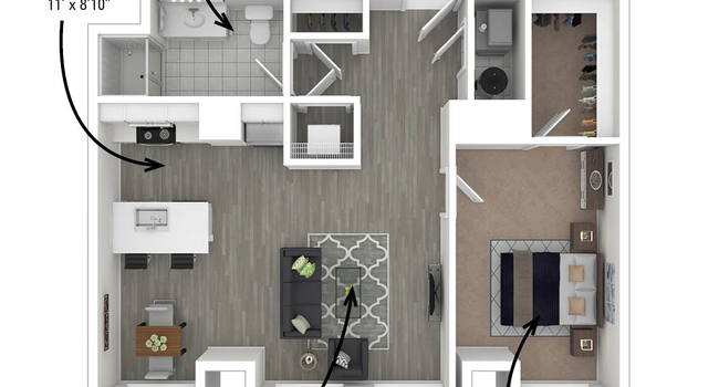 The Linc | Rochester, NY Apartments for Rent | ApartmentRatings©