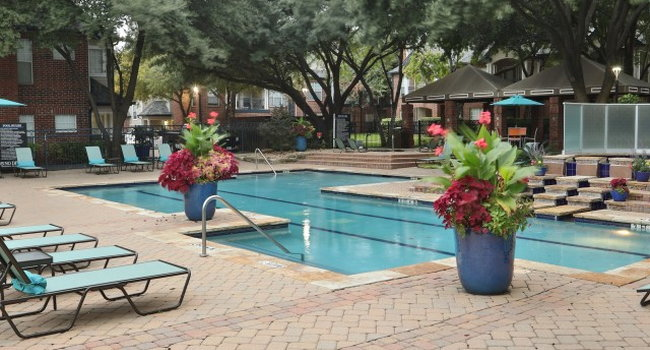 Two resort-style swimming pools