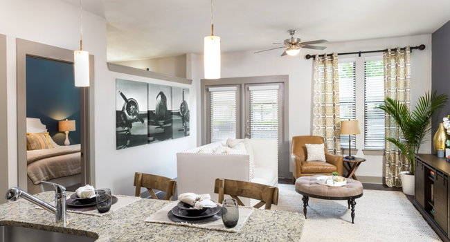 Spacious 1-, 2-, and 3-bedroom floor plans