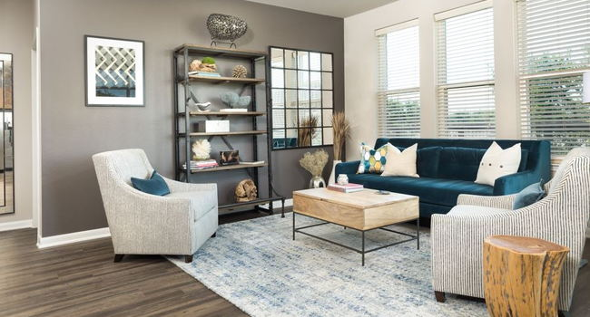 Hardwood and polished-concrete flooring options