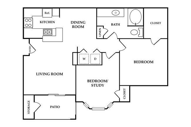 Riverbend Apartments - 216 Reviews   League City, TX ...